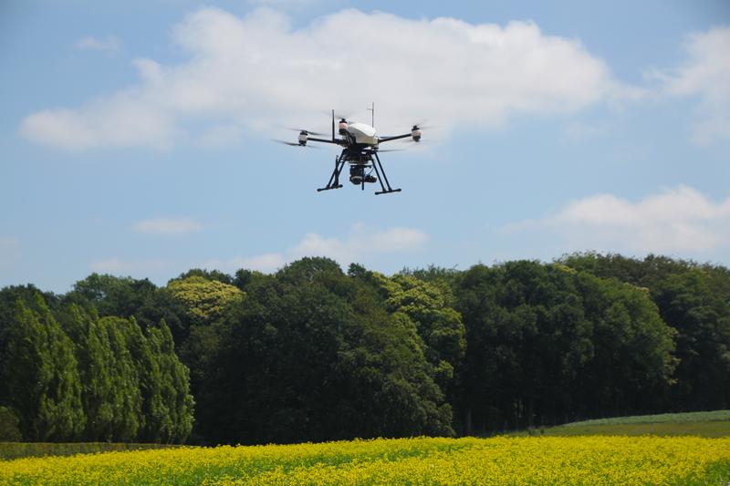 La thermographie par drone pour la recherche agronomique et le contrôle des cultures