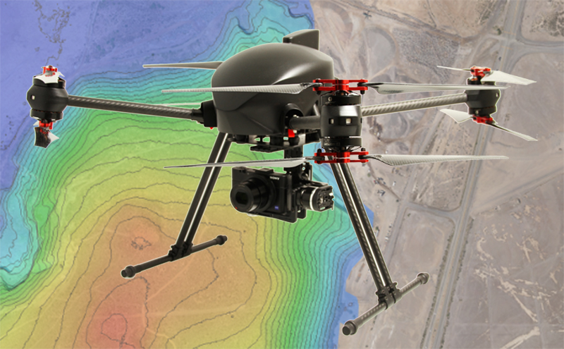 Post-processing software for drone aerial photogrammetry and geographic information systems (GIS)