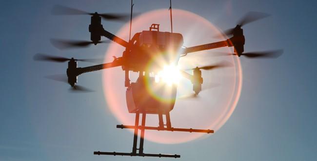 Drone embedded lidar - 3d laser scanner