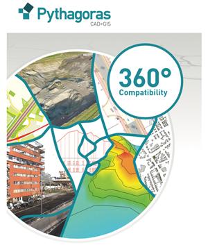 Pythagoras cad+gis free download.